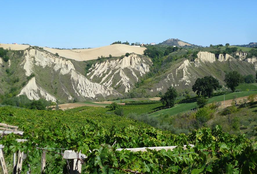 I calanchi in Abruzzo
