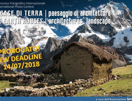 16° Concorso Fotografico Internazionale – le Case di terra, paesaggio di architetture PROROGATO