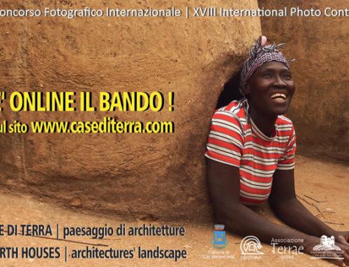 """BANDO 2020 – 18° Concorso Fotografico Internazionale """"Case di Terra – Paesaggio di Architetture"""""""