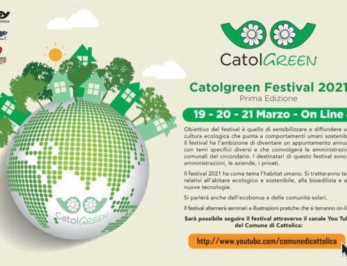 Catolgreen Festival 2021 a Cattolica – Prima Edizione