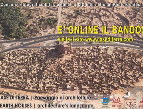 """BANDO: XIX° Concorso Fotografico Internazionale """"Case di Terra – Paesaggio di Architetture"""""""